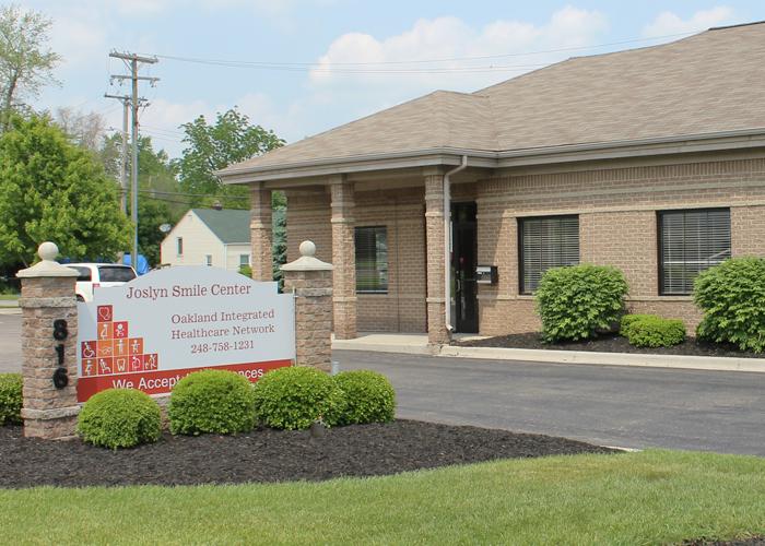 Joslyn Smile Center building
